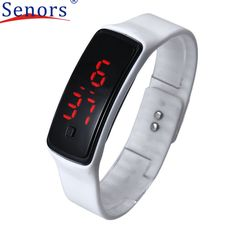Superior New Fashion Ultra Thin Girl Men Sports Silicone Digital LED Sports Wrist Watch May19 #shoes, #jewelry, #women, #men, #hats, #watches