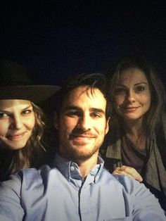 Jennifer Morrison, Colin O'Donoghue, and Rose McIver