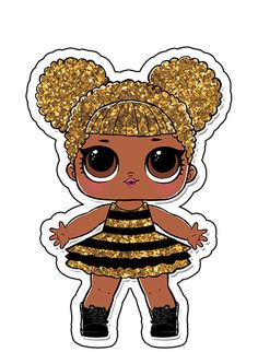 Um Bebê na Camiseta: Aplique para tubete Lol Surprise - para imprimir grátis Lol Doll Cake, Theme Mickey, Mickey Mouse, Doll Party, Lol Dolls, Queen Bees, Paper Dolls, Bows, Cartoon