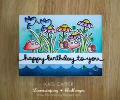 Lawnscaping Challenge: Happy birthday to you