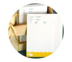 Organiza tus recetas: diseños impribles