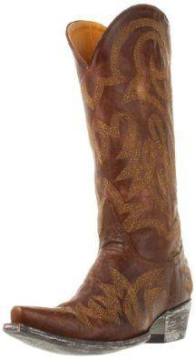 Old Gringo Women's Lauren Boot,Brass/Gold,7.5 B US Old Gringo. $337.50