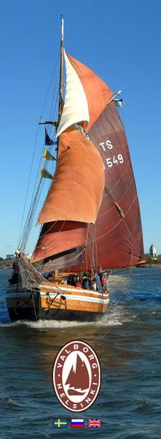 Nyt tervantuoksuisen perinnepurjelaivan omistaa Valborg Oy ja laivan kotisatama on Halkolaituri Helsingissä.