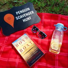 Join the #Penguin80Sweepstakes #ScavengerHunt!  Week 5, Clue 1:  Grab a blanket and a book and find yourself a nice little nook, somewhere in the grass and below the trees, where you can sit and enjoy the summer breeze.  Come back on 8/5 & 8/6 for the nex