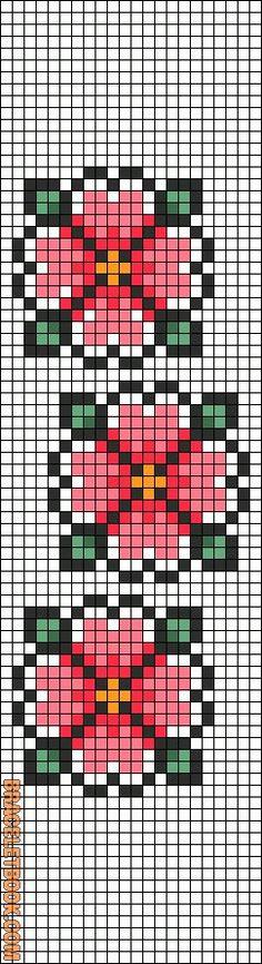Rotated Alpha Pattern added by christalxo - Picmia Cross Stitching, Cross Stitch Embroidery, Cross Stitch Patterns, Hama Beads Patterns, Beading Patterns, Mochila Crochet, Pixel Pattern, Cross Stitch Bookmarks, Alpha Patterns
