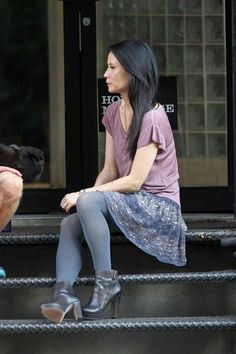 Lucy Liu Photo - Lucy Liu Films 'Elementary' in NYC