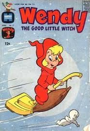 Wendy the Good Little Witch - one of my favorite comic books as a child. Brought back some wonderful memories when I saw this. Vintage Comic Books, Vintage Cartoon, Vintage Comics, My Childhood Memories, Sweet Memories, Retro, Comic Manga, Cinema Tv, Carlin
