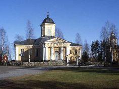 Oravaisten kirkko. Kuva: MV/RHO 26887 Marja-Terttu Knapas 1988