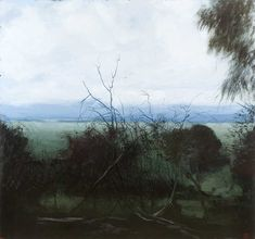 Journey to the Source VI, Philip Wolfhagen. Philip's paintings are inspired by the emotive qualities of light and the atmospheric landscape of northern Tasmania. Philip is represented by Bett Gallery.