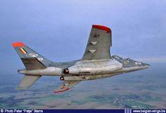 Belgian Air Force Alpha Jet AT-23