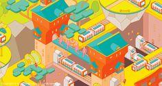 Cover Illustration for Inspire Magazine #subwayClient / Inspire Magazine 意念圖誌 / Taipei, Taiwan---Cover & Inside Illustrations for CSP Magazine2016 Category Management Handbook   April 2016Client / CSP Magazine / WinsightArt Director / Nico Heins…