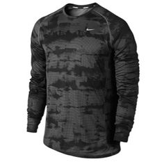44c7891dc03f7 Nike Dri-FIT Miler Long Sleeve T-Shirt - Men s  Eastbay Nike Gear