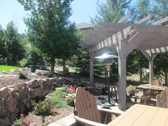 Pergola and Landscaping