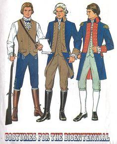 Men's Colonial Era Costume Mens Coat Waistcoat - FashionFilmsNYC.com