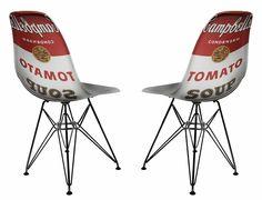Campbell's Soup Chair Art