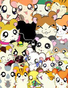 Hamtaro Collage by Fruitbowllover on DeviantArt Hamtaro, Classic Cartoons, My Childhood, Hello Kitty, Anime, Nostalgia, Snoopy, Collage, Deviantart