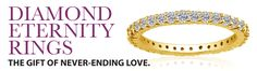 Women's Diamond Eternity Rings Diamond Eternity Bands Rings from Gemologica, A Fine Online Jewelry Store Eternity Rings, Eternity Ring Diamond, Diamond Rings, Gemstone Rings, Silver Christmas, Christmas 2016, Simple Gifts, Unique Gifts, Valentines Day Gifts For Her