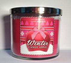 Bath Body Works Winter Candy Apple 3-Wick Scented Candle | Your #1 Source for Beauty Products
