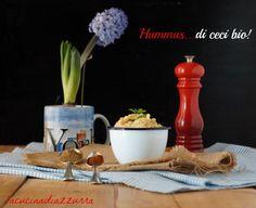 La Cucina di Azzurra: HUMMUS…DI CECI BIO A MODO MIO!!!