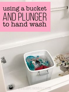 What you Need to Know About Hand Washing Cloth Diapers in a .- What you Need to Know About Hand Washing Cloth Diapers in a Hotel Room – Simply Mom Bailey Bucket & Plunger to Hand Wash Cloth Diapers even in a Hotel Room - Washing Clothes By Hand, Hand Washing, Diy Clothes Dryer, Wash Cloth Diapers, Cloth Diaper Reviews, Huggies Diapers, Handwashing Clothes, Cleaners Homemade, Clothing Hacks