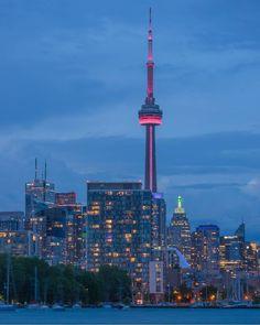 Visit Toronto, Toronto Ontario Canada, World Cities, Blue Aesthetic, Wonderful Places, Cn Tower, Dream Life, City, Instagram Summer