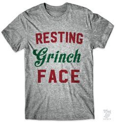 resting grinch face!