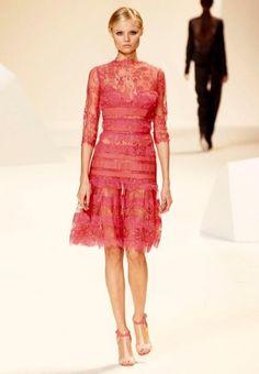 Elie Saab lace dress Spring summer  2013