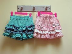 Silly Frilly Shorts by Felicity Sewing Patterns