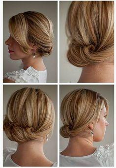 idea for my bridesmaids hair