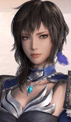 f Ranger Med Armor portrait Asian Faction Wang yi woman who seeks vengeance against ma chao for killing her family