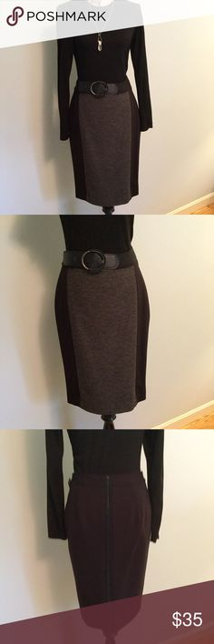 🎈SALE🎈Nordstrom Classique Entier Pencil Skirt Nordstrom Classique Entier Pencil Skirt with Beautiful textured front panel- side zipper closure and zipper detail on back panel. NWOT Woven She'll-60%Viscose 36%Virgin Wool,2%Polyester, 2%Spandex. Knit She'll- 66%Rayon,28%Nylon,6% Spandex- Fully Lined. Dry Clean Only Nordstrom Skirts Pencil