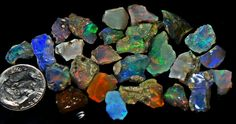 10 grams welo opal nice and small wrappers!!! $50 super select pieces!!! from the welo region in ethiopia