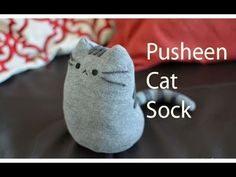 Today, Creative DIY will do pusheen cat from a sock very cute and easy ! Pusheen is a female cartoon cat who is the subject of comic strips and sticker sets . Diy Sock Toys, Diy Cat Toys, Sock Crafts, Pusheen Toys, Pusheen Cat, Sewing Projects For Kids, Diy Projects, Diy Crafts And Hobbies, How To Make Socks