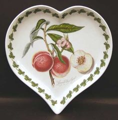 Portmeirion serving plate - Grimwood's Royal George (peach)