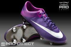 Nike Rugby Boots - Nike Vapor VII SG - Soft Ground - Court Purple-Metallic Silver