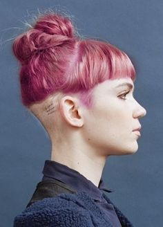 yet another baby bang with undercut/sidecut mashup