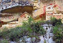 mistično pleme Chachapoya ('Oblačni narod', 'Narod oblaka').