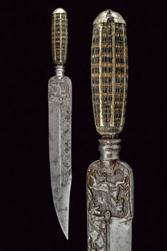 A hunting knife,   provenance:Southern Italy dating: first quarter of the 19th Century .