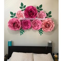 No photo description available. Crepe Paper Flowers, Mother In Law, Projects To Try, Wall Decor, Display, Decoration, Stuff To Buy, Bra, Instagram