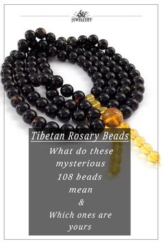 Tibetan rosary beads made of amber: what are they for and which ones are yours Yoga Mala, Mala Meditation, Amber Gemstone, Amber Beads, Tibetan Prayer Beads, Adjustable Knot, Buddhist Prayer, Buddha Beads, Rosary Beads