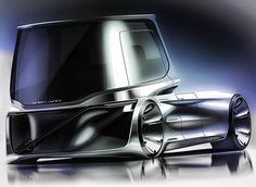 Volvo studio truck render  #cardesign #carbodydesign #sketchbook #cardesignsketch #idrawcars #conceptcardesign #carbodysketch #sketchpractice