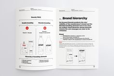 Brand guidelines for Moomin branded products by graphic design studio Bond, Finland