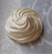 The Happy Housewife and her soap obsession: Making Floating Soap Meringues step by step