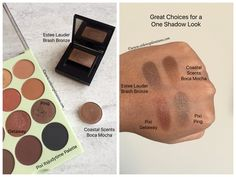 Check out my top picks for creating a one shadow look.