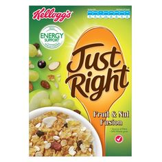 Kelloggs Just Right Cereal