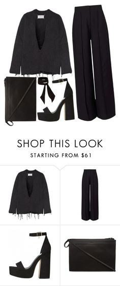 """""""your funeral"""" by teayako ❤ liked on Polyvore featuring Maison Margiela, Miss Selfridge, 3.1 Phillip Lim and River Island"""