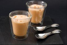 Recette de siphon mousse de carottes au lait de coco