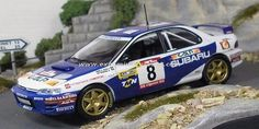 TAP Rallye de Portugal 1997 Subaru Impreza 555 Madeira/da Silva 1/43