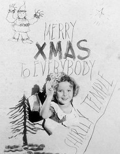 Shirley Temple, Christmas 1935.