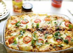 Als er een aantal dingen mogen zijn waar ik van hou in een ovenschotel is dat het lekker romig/zacht moet zijn waarbij veel kaas aanwezig is en dat het een eenvoudige warme maaltijd moet zijn wat…